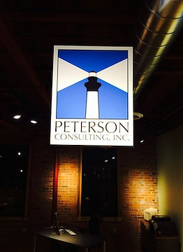 Peterson Consulting, PCI, logo, office, construction, consultant