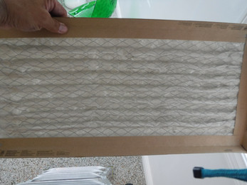 Remember to replace your air conditioning filter regularly. A dirty filter will restrict airflow and