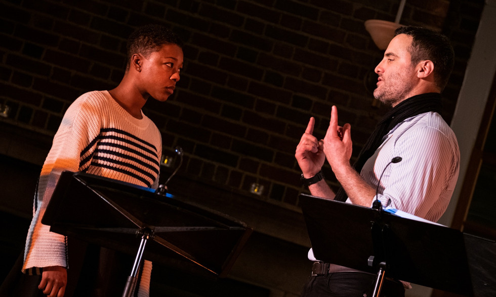 """""""With allusions to the White House as well as Black Lives Matter, [TARTUFFE] tears down walls to rebuild a classic."""""""