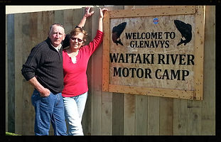 Owners of Glenavy Motor Camp
