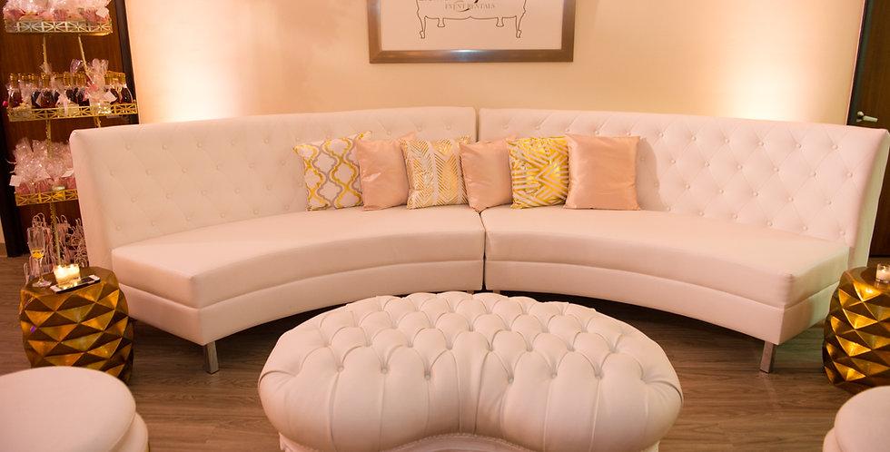 Belmont Curved Sofa