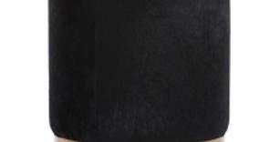 Mykonos Black Ottoman