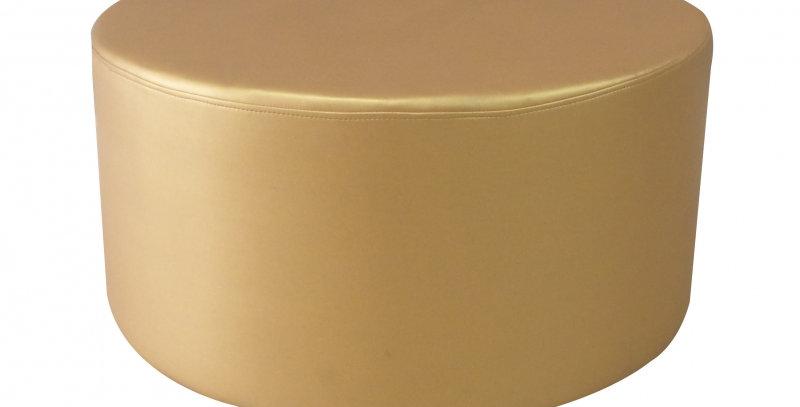 Malibu Gold Round Ottoman