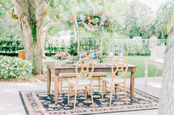 Camille Chair & Parrish Table