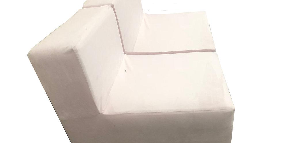 Malibu Rose Blush Modular Chair
