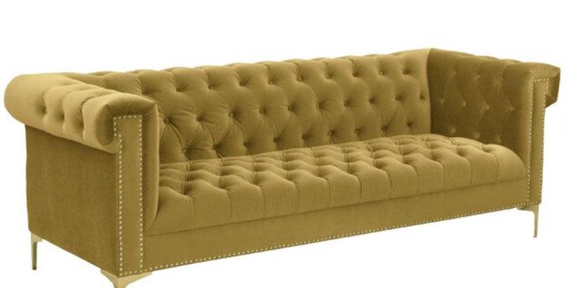 Calvin Gold Sofa