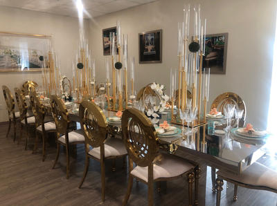 Diana Chairs & Sabrina Tables