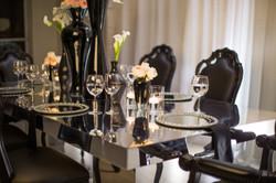 SAbrina Mirrored Table