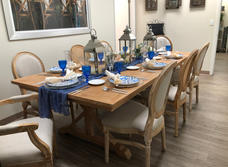 Monica Table & Louis Chairs