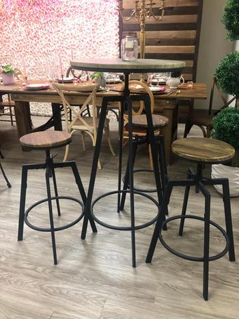 Koko Cocktail Table & Stools