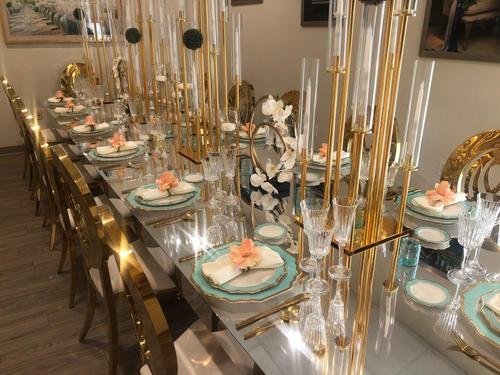 Diana Candelabras & Dinnerware