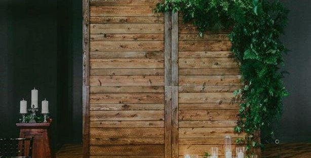 Rustic Two Tones Wall