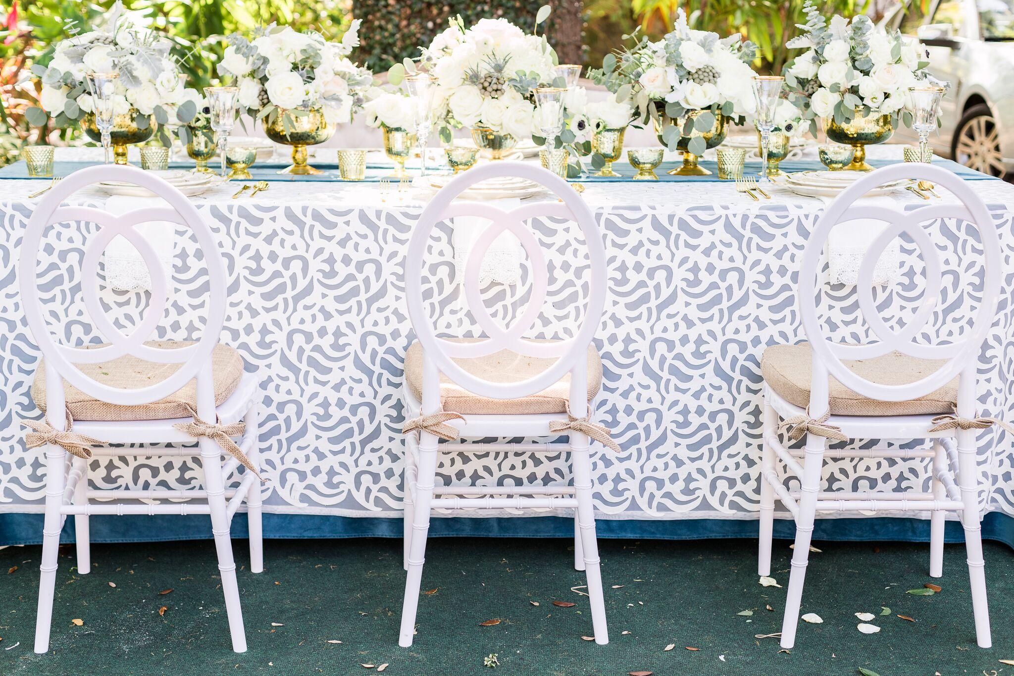 Camille White Chair