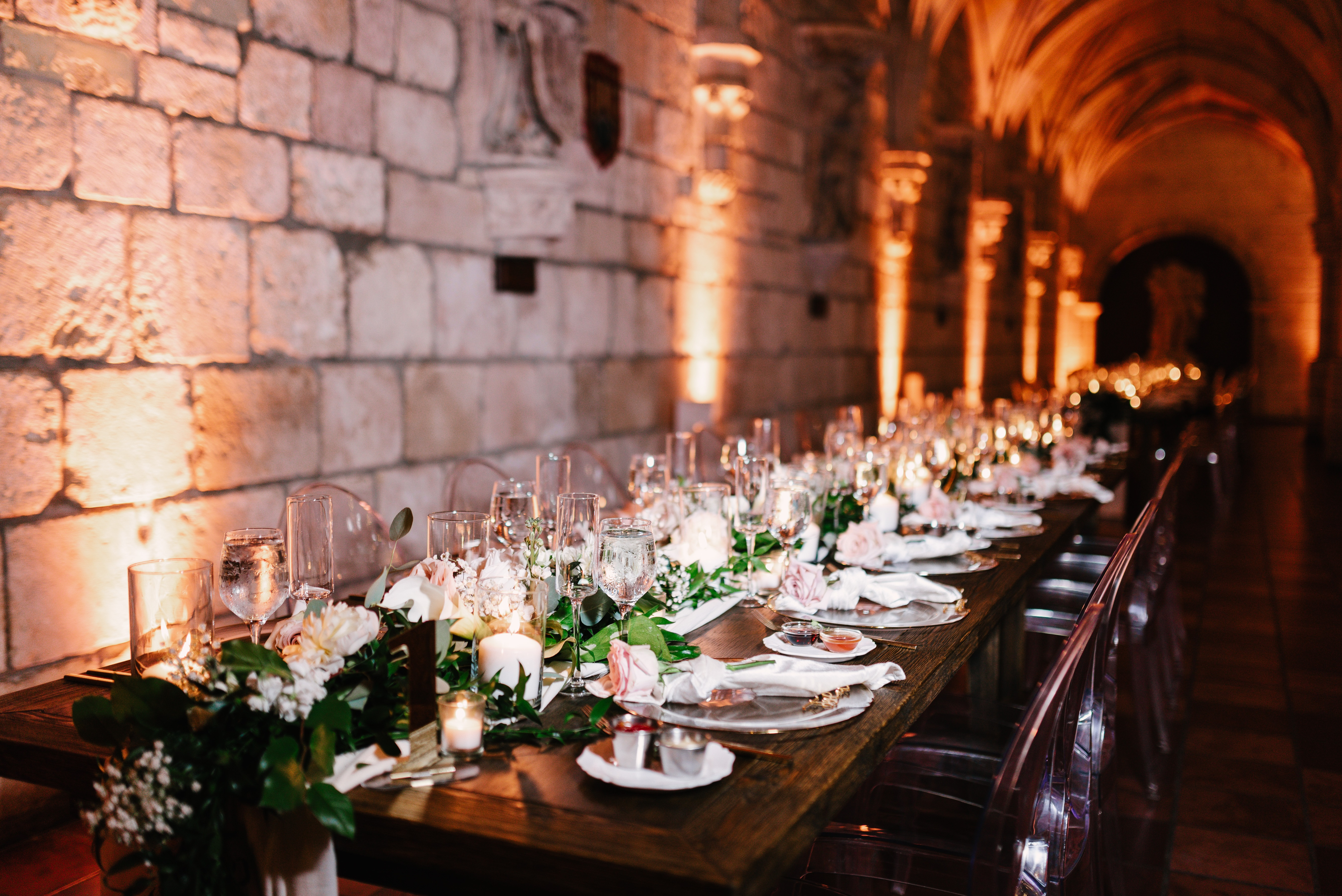 Balmoral Tables at Spanish Monastery