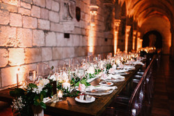 Balmoral Tables at Spanish Monastery