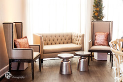 Kate Loveseat & Victoria Chairs