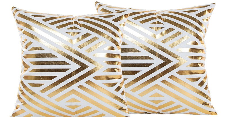 White & Gold Lines-037