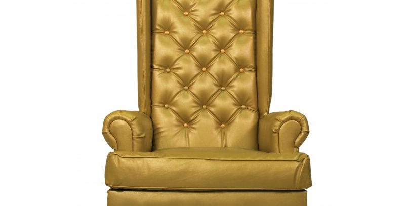 Marie Antoinnette Gold Chair