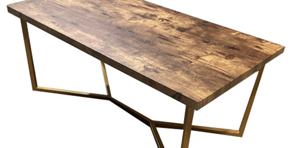 Astrid Wood Top Coffee Table