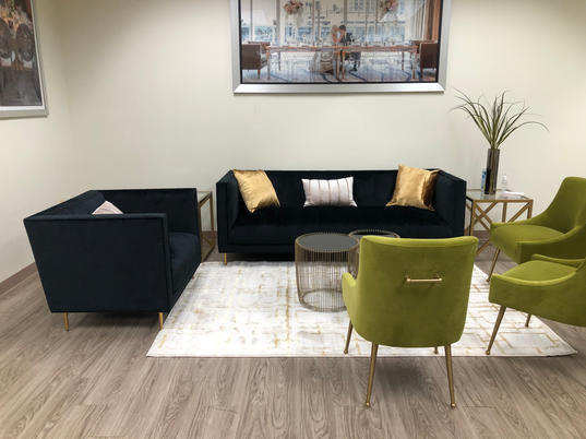 Oslo Sofa & Ritz Sage Chairs