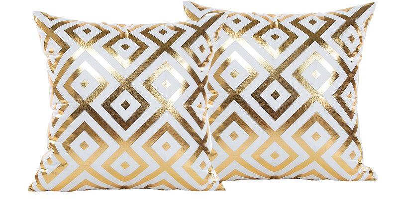 White & Gold Symetric-035