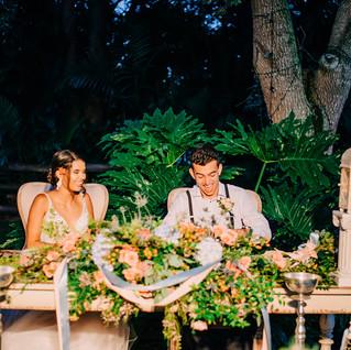 Bride & Groom Seating