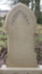 Hand Carved Headstone