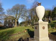 Yorkstone carving, headstone masonry