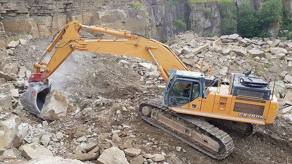 Case 700B Excavator