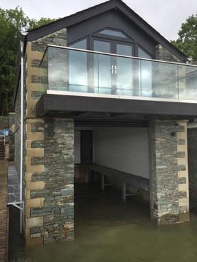 Sandstone quoins installed by Topline Ltd