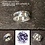 Thumbnail: Sterling silver channel ring 4 x 1.5 x 6.0 mm with CZ | RG887816
