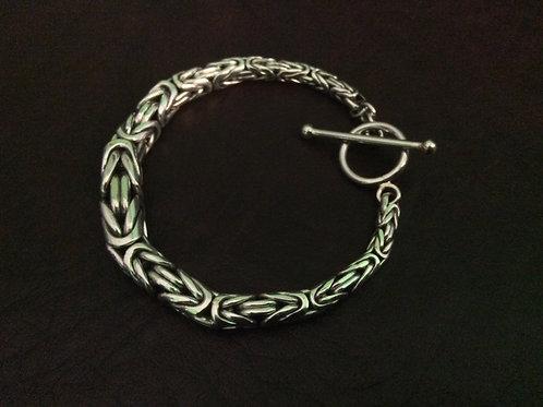 Sterling silver Byzantine bracelet 5 mm   BL227791