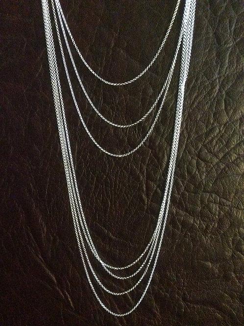 Sterling silver rolo chain 1.02 x 1.06 | CH449895