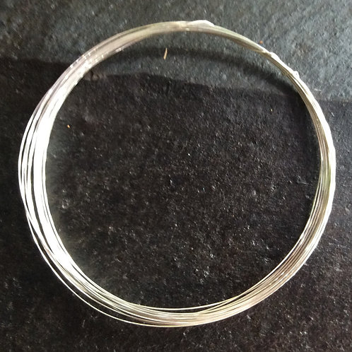 Sterling silver wire 26 gauge or 0.40 mm | WR118893