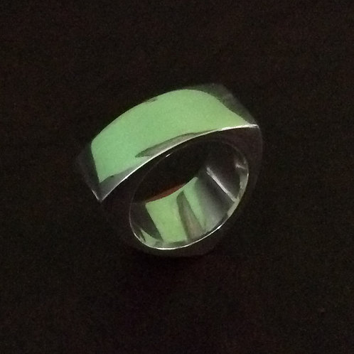 Sterling silver equilateral ring 11 mm - RG887812