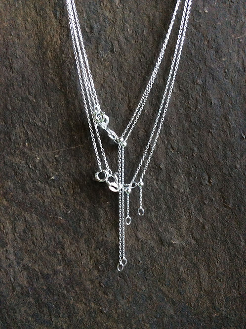 Sterling silver cable chain necklace 1.60 x 1.15 mm - CH449922