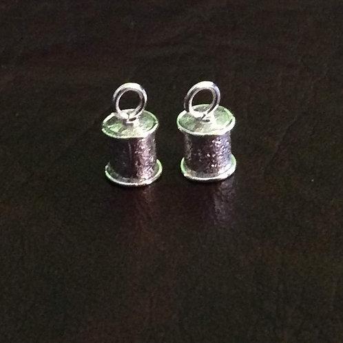 Sterling silver sandpaper end cap 5.0 mm | EC998893
