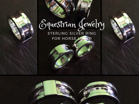 Silver channel ring 5 x 2.5 mm with Lip 2.25 mm Outside wide 9.75 mm and closed silver 6.25 mm - RG8