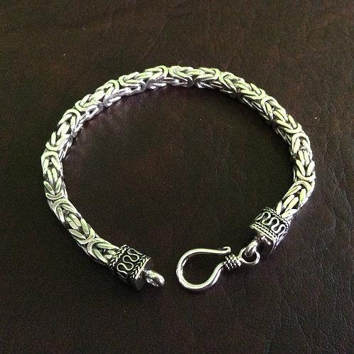 Sterling silver Byzantine chain 5 mm   BL227793