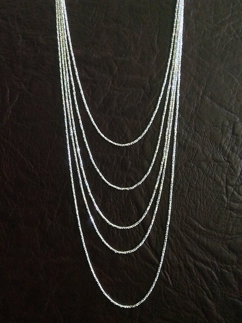 Sterling silver rope chain 1.50 mm | CH449907