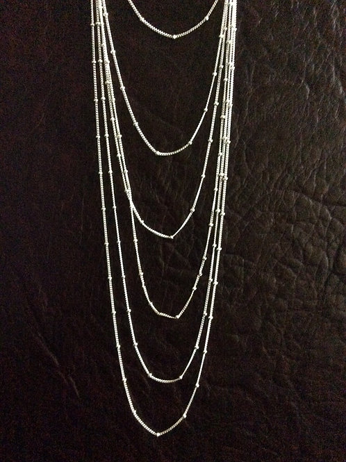 Sterling silver stud chain 1.50 x 1.05 mm | CH449909