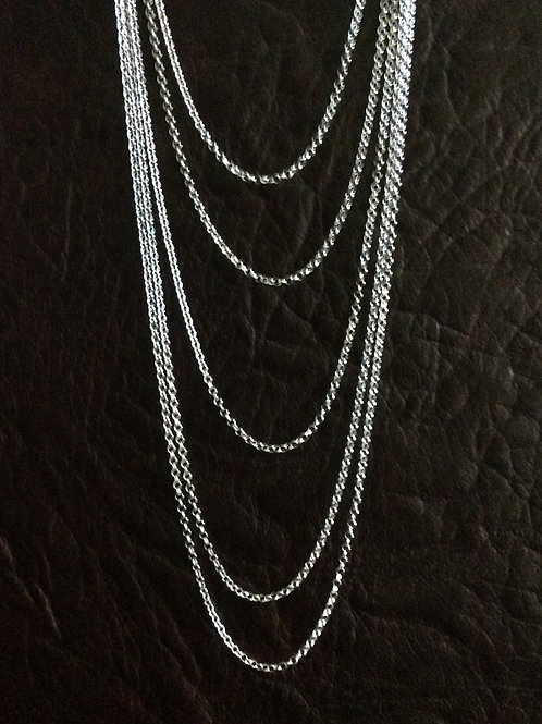 Sterling silver rolo chain 1.61 x 1.63 mm | CH449900