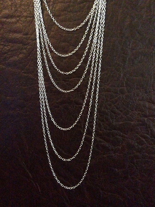 Sterling silver cable chain 2.60 x 2.00 mm | CH449893