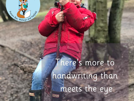 There's more to handwriting than meets the eye!