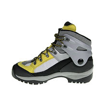 Grey and Yellow Hiking Boots