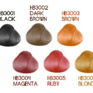 Cellophane Treatment Dark Brown Color