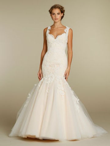 Jim Hjelm wedding gown style 8214 Front