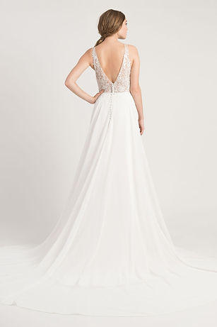 Jenny Yoo Martina gown back view