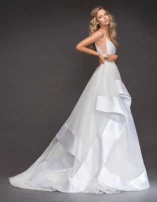 Hayley Paige Andi gown back view