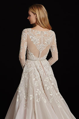 Hayle Paige Hayley Gown back view